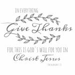 give thanks printable for framing