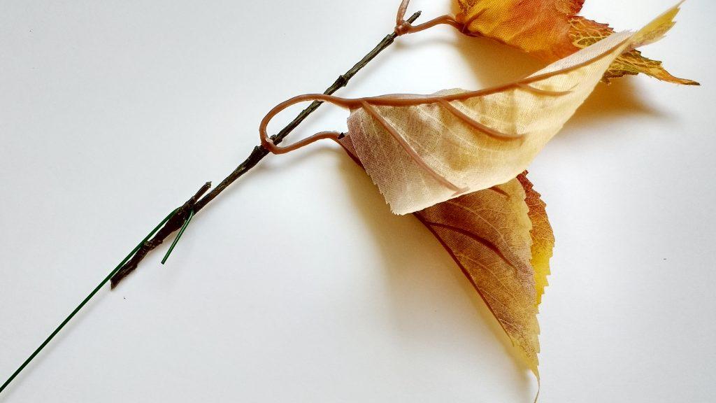 Floral Wire on Leaf Stem