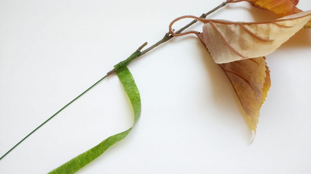 Taping Leaf Stem
