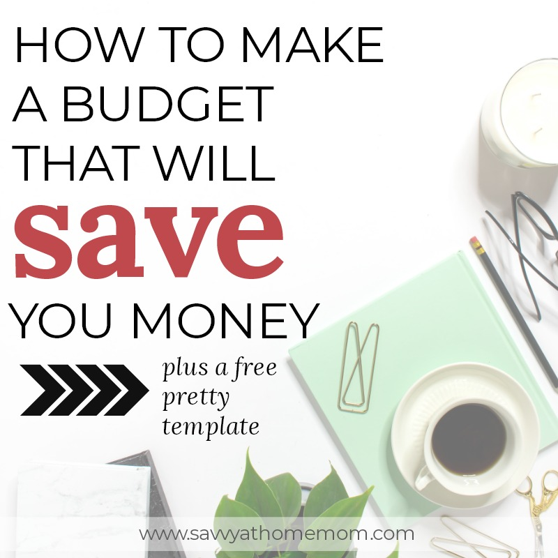 It's easier than you think to make a budget that will save you money