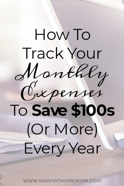 Keeping track of your monthly expenses will help you stay on budget and save money. Learn how here!