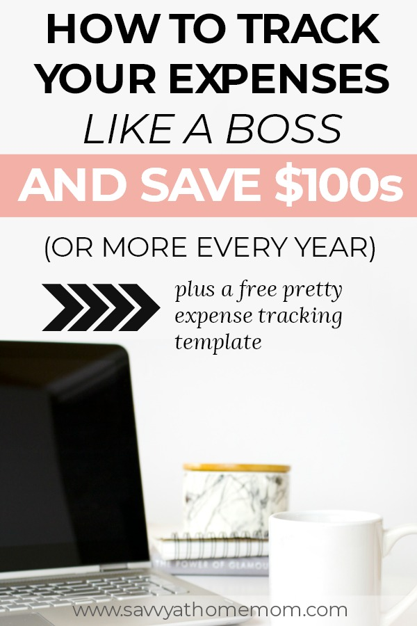 tracking your monthly expenses can save you $100s and it's easier than you think...