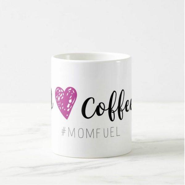 i heart coffee mom fuel mug