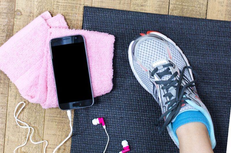 save money by exercising at home