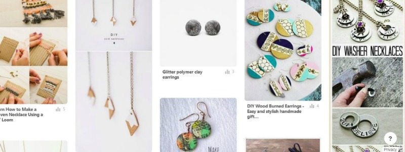 crafting and diy pinterest board