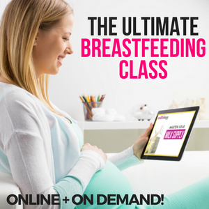the ultimate breastfeeding class by milkology